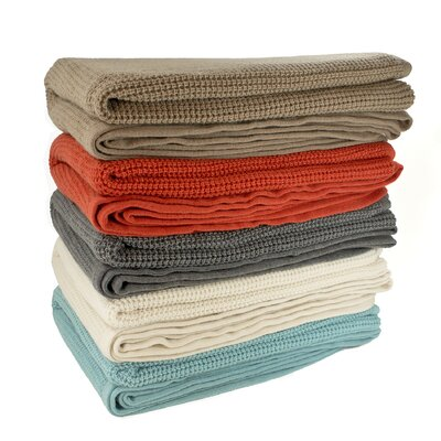 Pur Modern Schindler Thermal Knit Throw