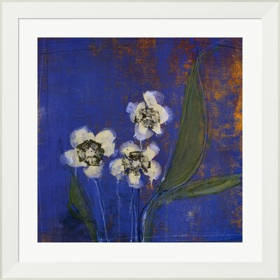 Orchid Study I by Maeve Harris Framed Painting Print by Evive Designs