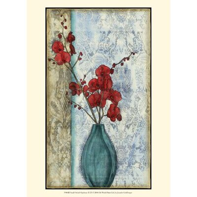 Small Orchid Opulence II (P) by Jennifer Goldberger Graphic Art by Evive Designs