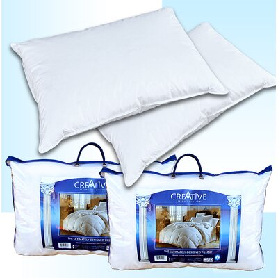 Creative Living Solutions 2 Feather and Down Bed Pillows by DSD Group