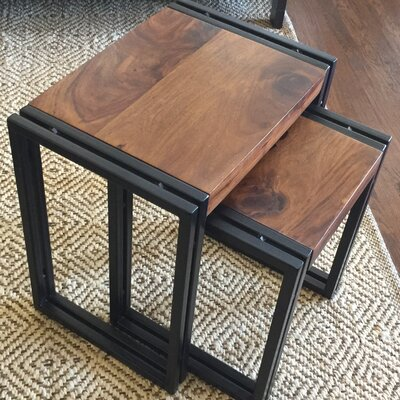 Hall 2 Piece Nesting Tables by Timbergirl