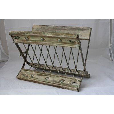 Rustic Magazine Rack by Timbergirl