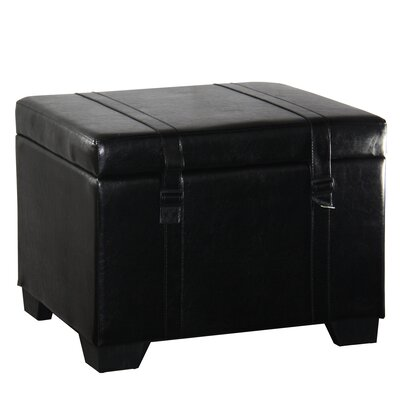Leather Storage Ottoman by ORE Furniture