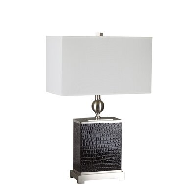 """ORE Furniture 27"""" H Table Lamp with Rectangular Shade"""