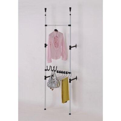 Telescopic 3 Tier Clothes / Jeans Rack Product Photo