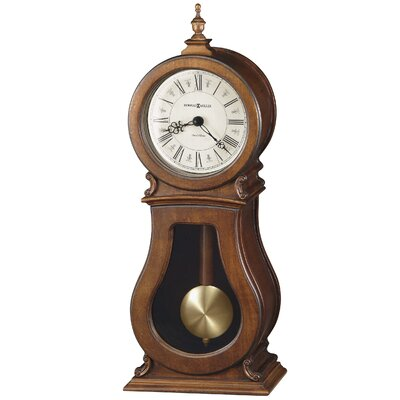 Arendal Mantel Clock in Tuscany Cherry by Howard Miller