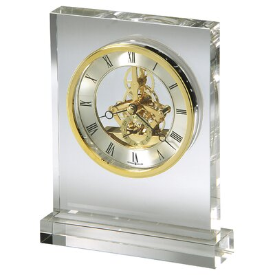 Howard Miller® Prestige Crystal Tabletop Clock