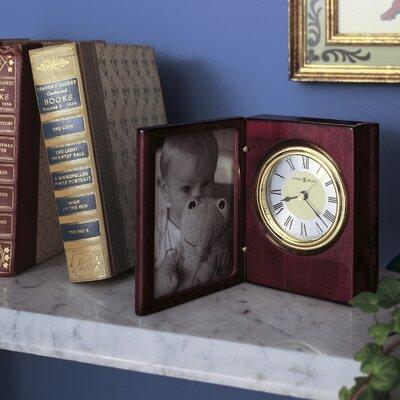 Howard Miller® Portrait Book Table Clock