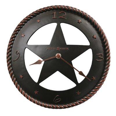 "Howard Miller® Maverick 11"" Wall Clock"