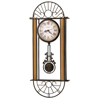 Howard Miller® Decorative Quartz Devahn Wall Clock