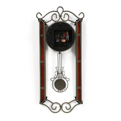 Decorative Quartz Carmen Wall Clock by Howard Miller