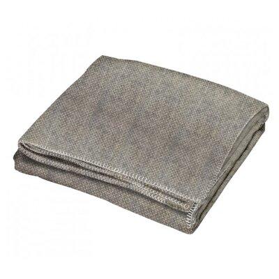 Creswick All-Natural Alpaca / Wool Fringed Throw