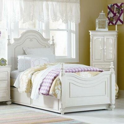 Charlotte Low Poster Bed by LC Kids