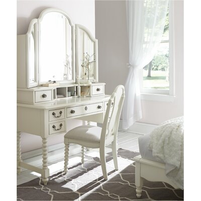 LC Kids Inspirations by Wendy Bellissimo Vanity with Mirror with Mirror