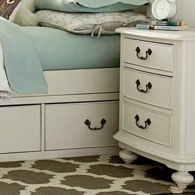 LC Kids Inspirations by Wendy Bellissimo 2 Drawer Nightstand Night Stand