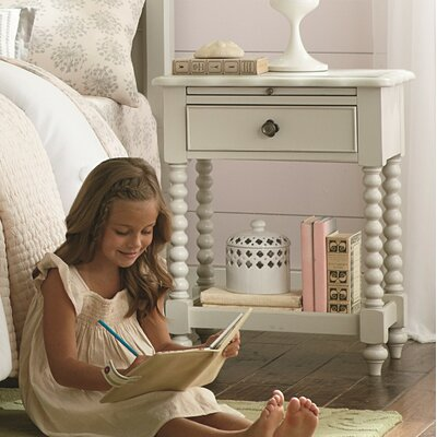 LC Kids Inspirations by Wendy Bellissimo 1 Drawer Nightstand Night Stand