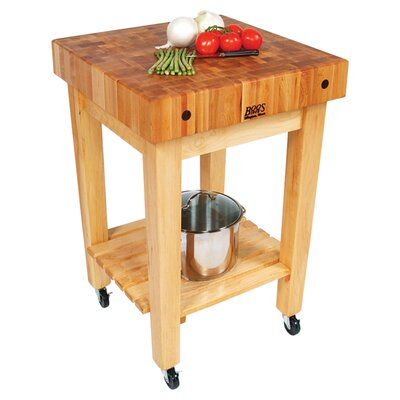 BoosBlock Prep Table with Butcher Block Top Product Photo