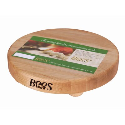 John Boos BoosBlock Round Maple Cutting Board