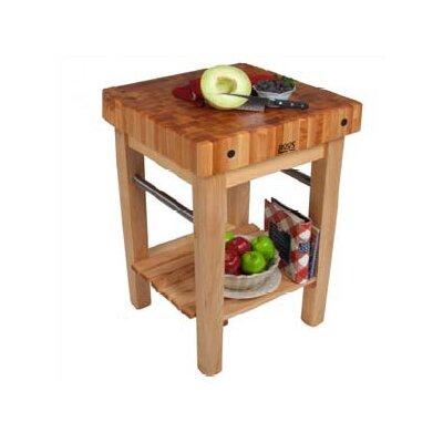 BoosBlock Butcher Block Prep Table Product Photo