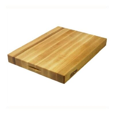 "John Boos BoosBlock Commercial 2 1/4"" Maple Cutting Board"