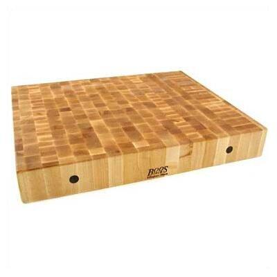 BoosBlock Rectangular Maple Butcher Block Cutting Board by John Boos