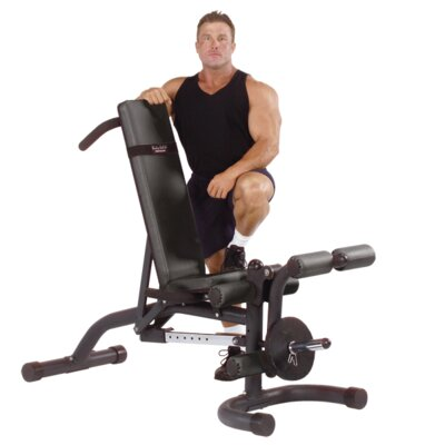 Heavy Duty Adjustable Bench with Leg Developer by Body Solid