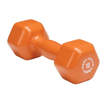 Vinyl Dumbbell in Orange by Body Solid