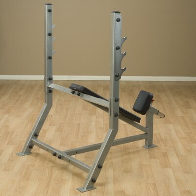 Pro Club Adjustable Incline Olympic Bench by Body Solid