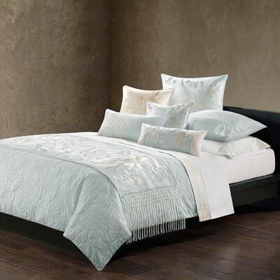 Natori Mantones de Manila Silk Cotton Quilted Duvet Cover