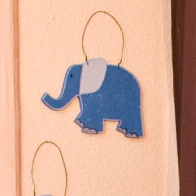 On Safari Elephant Hanging Art by Brandee Danielle