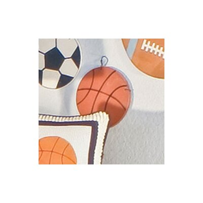 All Star Basketball Hanging Art by Brandee Danielle
