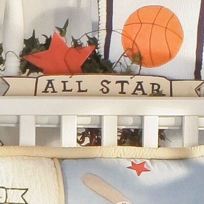 All Star Sign Hanging Art by Brandee Danielle