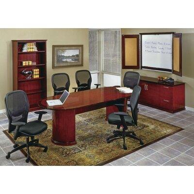 OSP Furniture Mendocino Standard 3-Piece Desk Office Suite