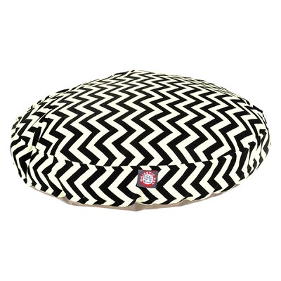 Zig Zag Round Pet Bed by Majestic Pet