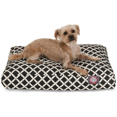 Bamboo Rectangle Pet Bed by Majestic Pet