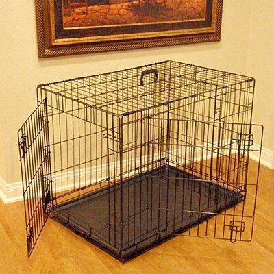 Majestic Pet Products Double Door Folding Pet Crate