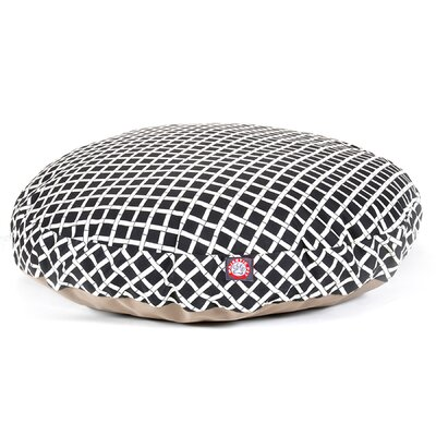 Bamboo Round Pet Bed by Majestic Pet