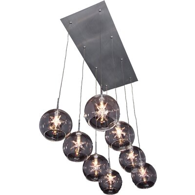 Starburst 8-Light Pendant Product Photo
