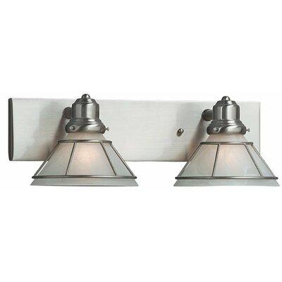 Dolan Designs Craftsman 2 Light Vanity Light Reviews Wayfair