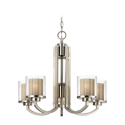 Dolan Designs Horizon 5 Light Chandelier