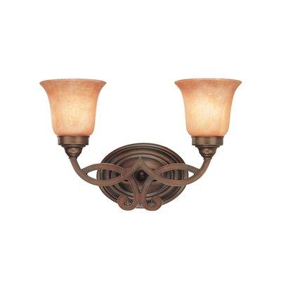 Dolan Designs Medici 2 Light Vanity Light