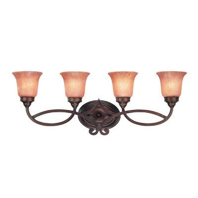 Dolan Designs Medici 4 Light Vanity Light