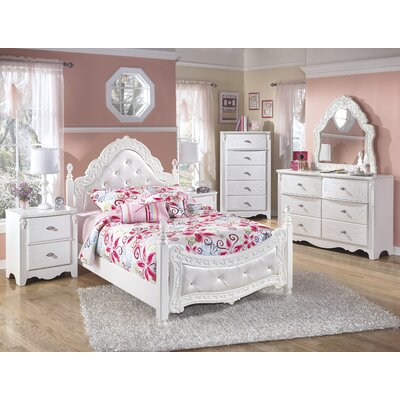 exquisite four poster customizable bedroom set by signature design by