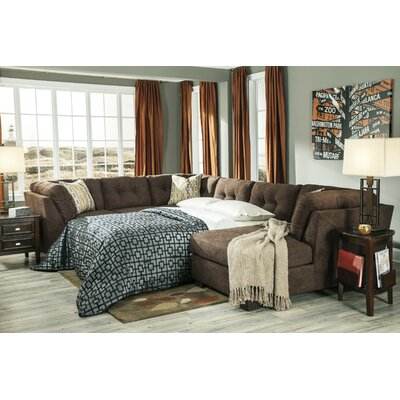Delta City Right Sleeper Sectional