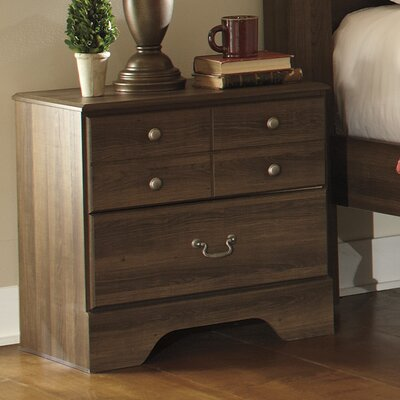 Allymore 2 Drawer Nightstand by Signature Design by Ashley