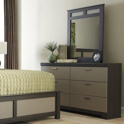 Wellatown 6 Drawer Dresser with Mirror by Signature Design by Ashley