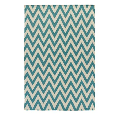 Flatweave Teal Area Rug by Signature Design by Ashley