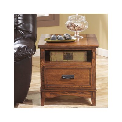 Signature Design by Ashley Castle Hill Chairside Table