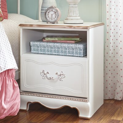 Korabella 1 Drawer Nightstand by Signature Design by Ashley