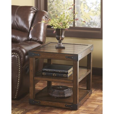Signature Design By Ashley Hunter End Table Reviews Wayfair